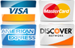 We accept most major credit cards for your AC service in Casper WY.